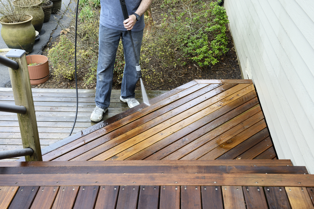 Deck Pressure Cleaning Wellington