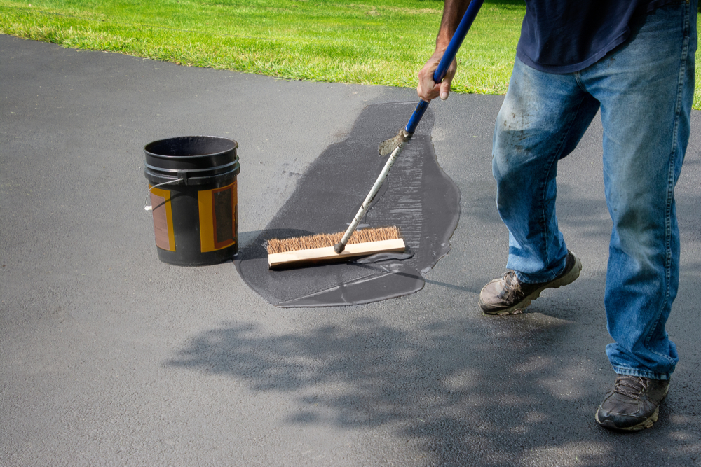 soft washing & sealing driveway pavers wellington